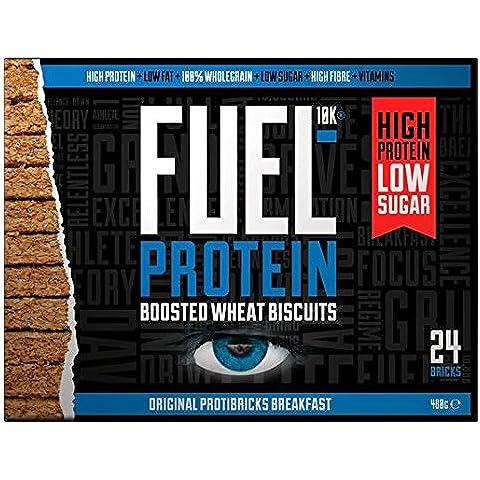 Combustible Protibrick 24 Proteína Impulsado galletas de trigo 24 x 20g