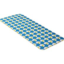 LvRao Linda cartoon alfombras para salas modernas decoracion alfombra pelo corto antideslizante grand moqueta # Azul Amarillo 50*80cm