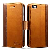 Rssviss Coque iPhone 7/8 Housse Etui en Cuir Flip Case pour iphone 7/8 [4...