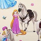 Fabulous Fabrics Disney Prinzessinnen & Pferde – hellgelb
