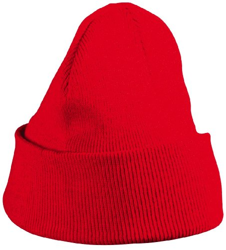 mb-knitted-soft-feel-cap-beanie-hat-14-colours-mb7500-red