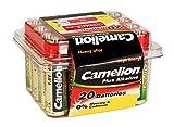 Camelion 11102006 Plus Alkaline Batterie LR6, Mignon, AA, 20er-Pack