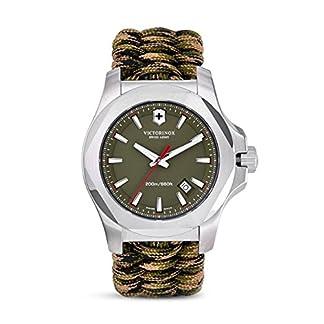 Victorinox Reloj Analogico para Hombre de Cuarzo con Correa en Tela 241727