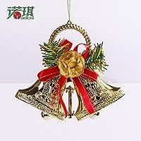 Decorazioni di Natale 15CM doppia campana addobbi albero di natale decorazioni ornamenti