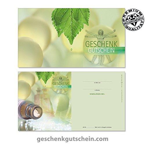 """25 Stk. Gutscheinkarten """"Standard"""" für Naturheilkunde, Apotheken MA1226, LIEFERZEIT 2 bis 4 Werktage !"""