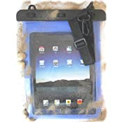 "PRESKIN - Wasserfeste Tasche bis 10.1 Zoll Display, Wasserdichte Tablet Schutzhülle (Beachbag10.1""Blue) / PC Hülle mit Touchscreen Funktion wie Schutzfolie / Displayfolie, Waterproof / water resistant tablet bag / pouch / case für Samsung Galaxy Tab 2, 3, Note 10.1, Lenovo 59387977 IdeaPad Yoga, Odys Ieos Quad 25,7 cm , XIDO 25,7 cm , Google Nexus 10 , Asus MeMo Pad Full HD10, Intenso TAB814 Acer Iconia , Sony, LG G Pad 8.3 Tablet, Apple iPad WIFI , Air , Lenovo IdeaPad , Apple MD510FD/A iPad 4 (Beachbag10.1""Blue)"