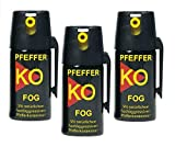 DD-Tackle 3er Set Pfefferspray Tierabwehrspray Ballistol Fog