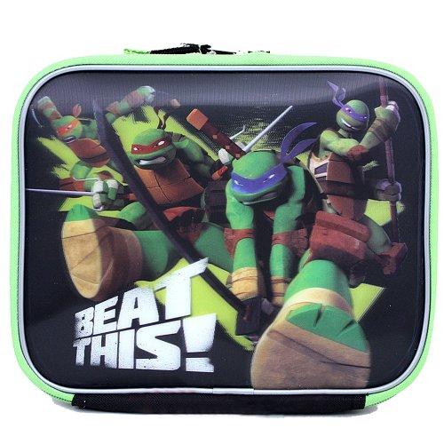 Lunch Bag–Teenage Mutant Ninja Turtles–TMNT Beat diese Neue Fall (Teenage Turtles Mutant Spielzeug Videos Ninja)