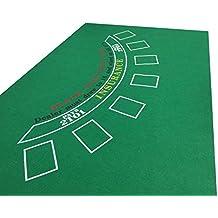 tapete verde de Blackjack para Casino (fieltro)