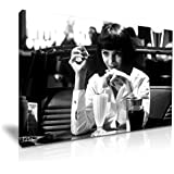 Pulp Fiction Mia Film Leinwand Kunstdruck Bild 76x 50cm