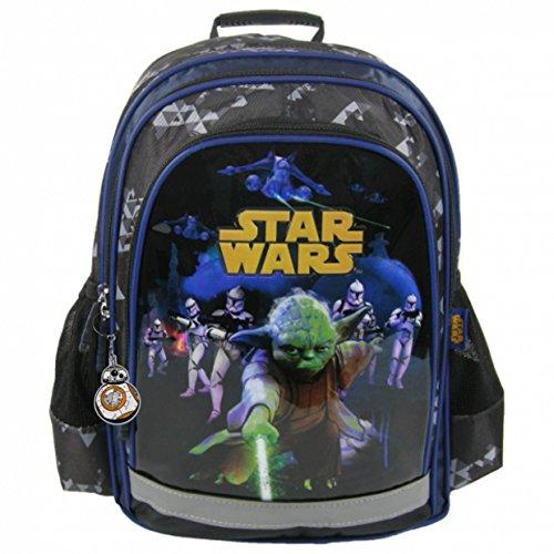 Ergonómico Star Wars Mochila Diseño Yoda Stormtrooper Escuela Deporte Bolsa de deporte