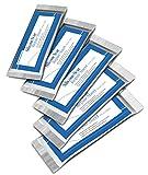 Narbenheilungspflaster aus Silikongel für ALLE Arten von Narben Alt Neu Hypertroph Narbengeschwür Aufgrund von Hautverletzungen Operationen Oder Verbrennungen 5 x Pflaster 3,5 cm x 12 cm