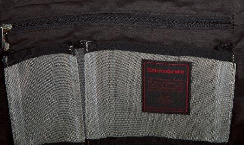 Samsonite Borsa Messenger 50697-1041 Nero Schwarz (BLACK 1041)