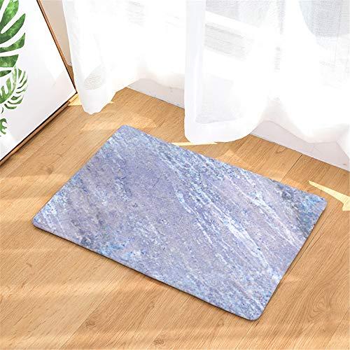 LYJZH rutschfeste Maschinenwaschbar Anti-Rutsch-Badematte für Badezimmer Weich Badematten Gestreifte Fußmatte Türmatte rutschfeste Saugunterlage Farbe11 50x80cm