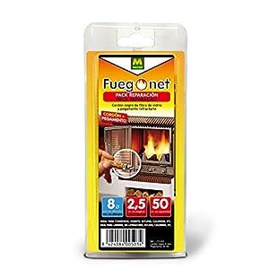 FUEGO NET Fuegonet 231243 Cordón, Negro, 11x3x22 cm