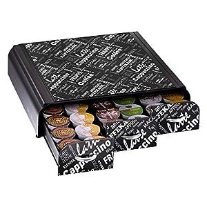 """Mind Reader """"Anchor"""" Coffee Pack Drawer for Keurig Vue Packs, Keurig K-Cups, Nespresso Capsules, CBTL/Verismo Pods or Tassimo T-Discs"""
