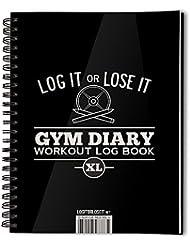 Log it or Lose it - Libreta para registro de entrenamientos (tamaño A5)