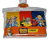 Boys Bob the Builder Pants Briefs Underwear 3 pack 18-24 Months to 4-5 Years