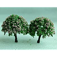 a-goo miniatura hada del jardín adorno flor maceta maceta decoración del hogar 2piezas Juego de árbol
