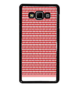 PrintDhaba Pattern D-1899 Back Case Cover for SAMSUNG GALAXY E7 (Multi-Coloured)
