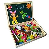 7-fajiabao-educativi-giocattolo-magnetica-lavagnetta-puzzle-di-legno-doppio-lato-gioco-per-bambini-3