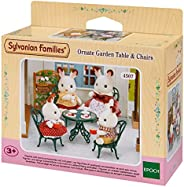 Sylvanian Families Ornate Garden table & ch