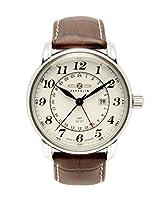 Zeppelin Reloj Analógico de Cuarzo para Hombre con Correa de Piel – 7642-5 de Zeppelin