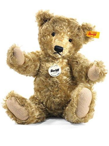 Steiff 000737 - Classic Teddybär Mohair hellbraun