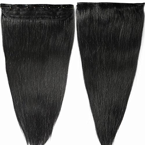 40cm-55cm 80-100g Extension Capelli Veri Clip Umani