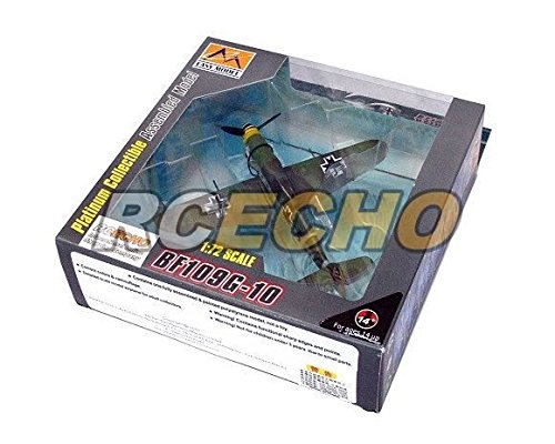 RCECHO® EASY MODEL Aircraft Model 1/72 Bf109G-10 Croatioans for sale  Delivered anywhere in UK