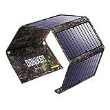 DOHIKER - Solar Ladegerät27W Solar Panel Ladegerät mit 3 USB Ports
