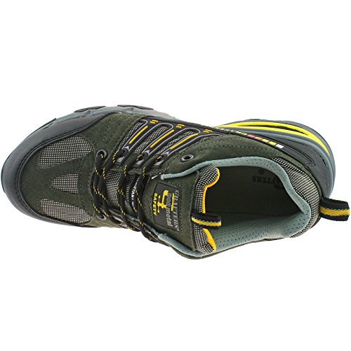 SAFETY FOOTWEAR Adult NIGHTHAWK NON METAL SAFETY TOE TRAINER Black