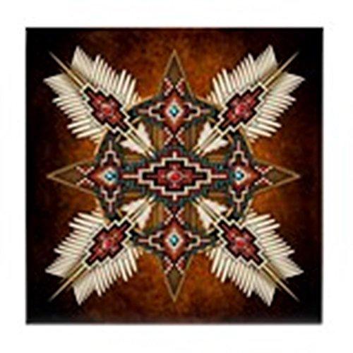 CafePress - Native American Style Mandala 28 - pour carrelage Dessous de Verre, boissons Dessous de Verre, petite Dessous de Plat