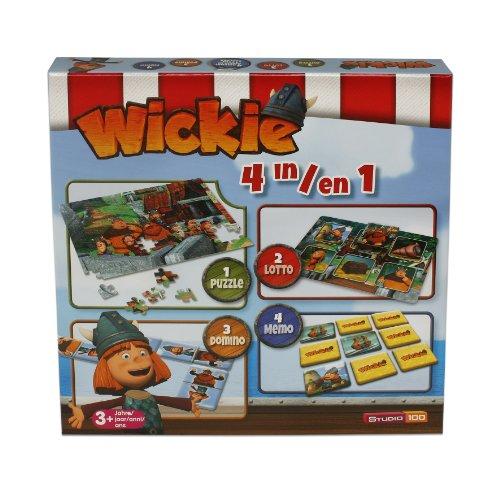250 Wickie und die starken Männer, 4-in-1 Spielebox ()