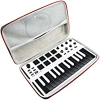 Duro Estuche Viajes Funda Bolso para AKAI Professional MPK MINI MKII - Teclado controlador MIDI USB portátil by AONKE