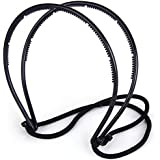 Jeval Double Hair Bands Hair Maker Belt magicad Hairstyle pin Elastic Band Elegant Style Women Hair Accessories Black