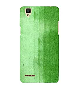 Green Old Wall Paint 3D Hard Polycarbonate Designer Back Case Cover for Oppo F1