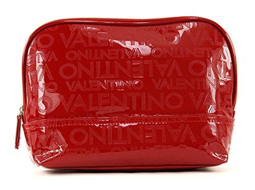 Preisvergleich Produktbild Valentino by Mario Valentino M Toiletry Bag Alma VBE0E608 Rosso Kosmetiktasche Kulturtasche (B 28 x H 20 x T10 cm)