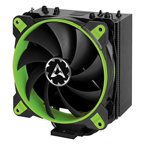 ARCTIC Freezer 33 eSports ONE - Tower CPU Luftkühler mit 120 mm PWM Prozessorlüfter für Intel und AMD Sockel - für CPUs bis 200 Watt TDP - Leiser und Effizienter Cooler (Grün)