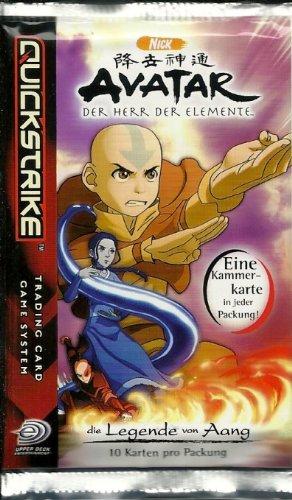 Upper Deck 46962 - Avatar Booster - Master of Elements
