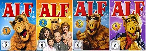 ALF - Staffel 1+2+3+4 (1-4) Komplette Serie / DVD Set