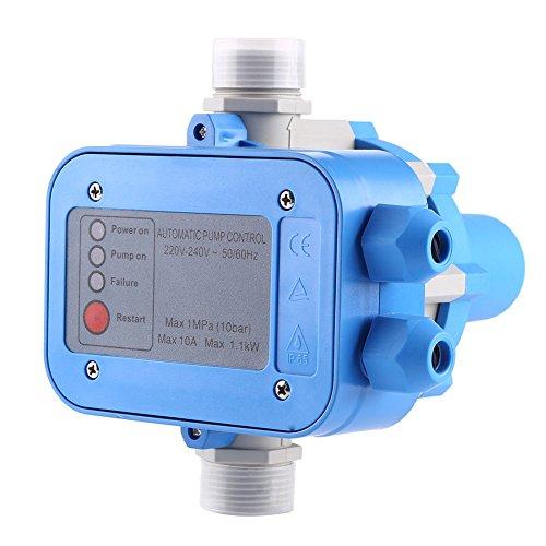 Yosoo® Pumpensteuerung Pumpe Druckschalter Hauswasserwerk Druckregler 1100W 1MPA