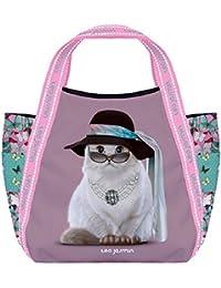 Petit sac shopping Téo Jasmin - Jasmine Tiffany Smoke