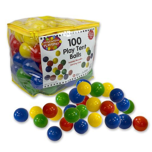 Right Track Toys 7cm Pit Balls with Carrying Case, 100 Piece