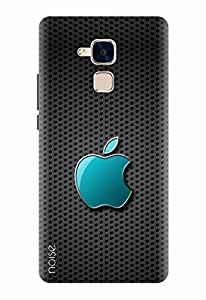 Noise Designer Printed Case / Cover for Huawei Honor 5C / Nature / Shiny Grey Apple - (GD-560)