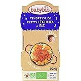 Babybio Bols Tendresse de Petits Légumes/Riz 2x200 g -