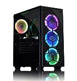ADMI ULTRA FAST GAMING PC : AMD A8-7650K 4.2GHz Quad Core, Radeon R7 Integrated Graphics, 1TB Hard, 8GB RAM, Wifi, RGB Gaming Case, Windows 10