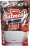 Prozis fiocchi d' avena con Whey Protein 400G–cereali con estremità di carboidrati e saettig Ballast stoffen–gusti schokobrownie–adatto per vegetariani–herzsch onend–5porzioni
