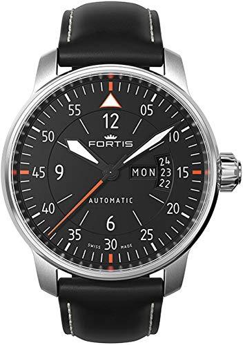 Fortis Aviatis Cockpit One 704.21.19.L.01 Montre Automatique pour hommes Fabriqu_ en Suisse