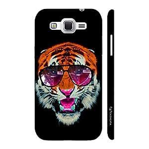 Enthopia Designer Hardshell Case 1990's Tiger Back Cover for Samsung Galaxy J2 (2016)